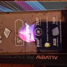 Allview p6 life energi - Telefon Allview, Negru, Neblocat