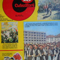 HOPCT REVISTA CUTEZATORII NR 18-MAI 1979 -PIONIERI FOLCLORISTI PE COPERTA - Revista scolara
