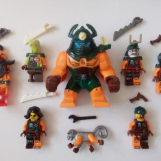 Set 8 minifigurine tip LEGO Ninjago Skybound, Nadakhan, Dogshank, Flintlocke
