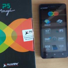 Allview P5 eMagic - Telefon mobil Allview P5, Neblocat