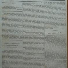 Reforma, ziar politicu, juditiaru si litteraru, an 2, nr. 75, 1860