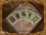Set 54 carti de joc, Victoria by Fournier, vintage