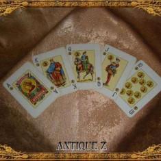 Set 54 carti de joc, Victoria by Fournier, vintage - Carti poker