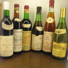 6 sticle vin lotto ( N ) recoltare 1971/1973/1976/1977/1978/1979 - Vinde Colectie, Aroma: Sec, Sortiment: Rosu, Zona: Europa