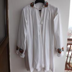 Camasa traditionala, veche din zona Bistrita. - Costum populare Bumbac100, Marime: 38, Culoare: Alb