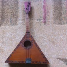 Balalaika balalaica instrument rusesc muzica ornament decor de colectie hobby