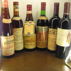 6 sticle vin lotto ( F ) recoltare 1971/1973/1974/1980/1994/1994 - Vinde Colectie, Aroma: Sec, Sortiment: Rosu, Zona: Europa