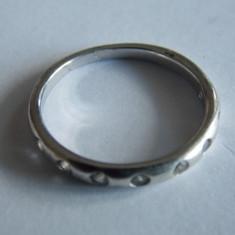 Inel de argint cu zirconii-812 - Inel argint
