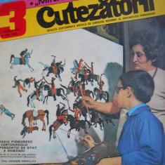HOPCT REVISTA CUTEZATORII NR 13-MARTIE 1977 - OMAGIU PIONIERESC PE COPERTA ! - Revista scolara