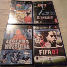 Pachet 4 jocuri SSLF, PS2, original, alte sute de jocuri! - Jocuri PS2 Altele, Shooting, 12+, Multiplayer