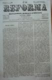 Reforma , ziar politicu  si litteraru , nr. 33 , 1859 , poezie de Alecsandri