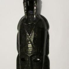 MASCA-APLICA-sculptura in lemn, arta africana, vintage - Arta din Africa
