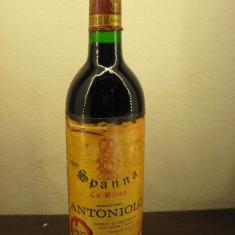 Vin SPANNA CA ROSSA, produttore Antoniolo, cl 72, gr 13, recoltare 1967 - Vinde Colectie, Aroma: Sec, Sortiment: Rosu, Zona: Europa