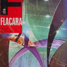 HOPCT REVISTA  FLACARA NR 49- DEC 1972 [VASILICA TASTAMAN COPERTA REVERS ]