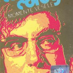 Caseta audio: Momente vesele cu Toma Caragiu (1) - originala, stare foarte buna - Muzica soundtrack electrecord, Casete audio