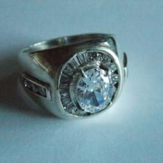 Inel de argint cu zirconii -605 - Inel argint