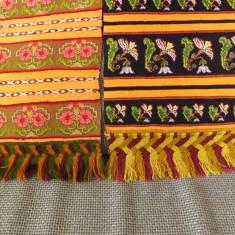 Zadii traditionale, vechi ptr.femei din zona Bistrita. - Costum populare Bumbac100, Marime: 38, Culoare: Orange