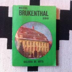 MUZEUL BRUKENTAL SIBIU GALERIILE DE ARTA EDITURA MERIDIANE 1982 ILUSTRAT FOTO - Album Muzee