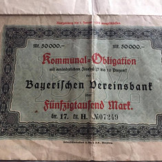 DOCUMENT VECHI 1928 GERMANIA