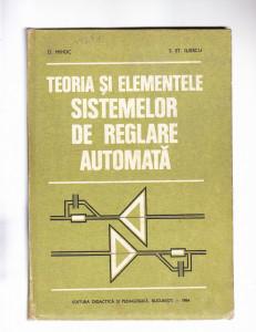 TEORIA SI ELEMENTELE SISIEMELOR DE REGLARE  AUTOMATA
