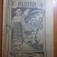 """revista albina 27 martie 1911-art.si foto""""pe malul prutului,schita din bucovina"""""""