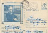 Intreg postal CP 1983 circulat -  Stefan Dimitrescu , pictor româna
