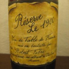 VIN RESERVE - LE 1900 VIN DE TABLE FRANCE, CL 75, GR 11 - Vinde Colectie, Aroma: Sec, Sortiment: Alb, Zona: Europa
