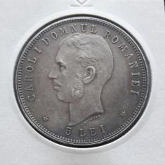 5 lei 1906 Piesa de colectie - Moneda Romania