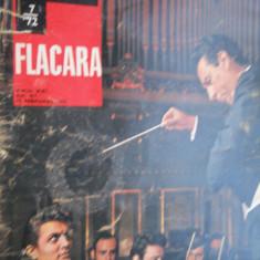 HOPCT REVISTA  FLACARA NR 7-FEB 1972 ION VOICU SI JACQUELINE BISSET PE COPERTA