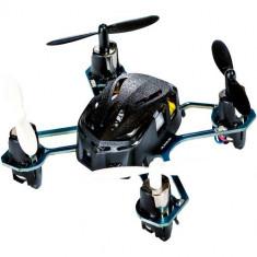 Drona Nano RC, micro Quadcopter, 4 canale, cu telecomanda, Hubsan
