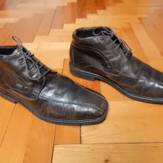 Pantofi piele naturala, interior imblanit Bugatti Tex B Shock Absorber; 43 - Pantofi barbat, Culoare: Din imagine