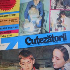 HOPCT REVISTA CUTEZATORII NR 7 -FEBRUARIE 1977 -PIONIERI LA SCOALA PE COPERTA - Revista scolara