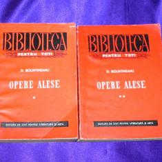 Dimitrie Bolintineanu - Opere alese vol 1-2 versuri proza colectia bpt (f0665 - Roman