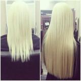 Set extensii blond deschis, Set Full Head cu 5 extensii blond, Extensie par - Extensii par