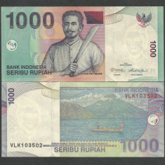 INDONEZIA INDONESIA 1000 1.000  RUPII RUPIAH 2013 , UNC [1] P-141m , necirculata