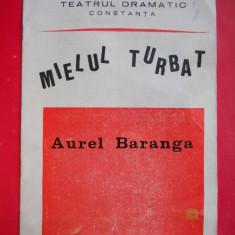 HOPCT PROGRAM TEATRUL DRAMATIC CONSTANTA /MIELUL TURBAT/AUREL BARANGA 1982 - Afis