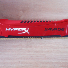 Memorie RAM Kingston HyperX Savage 4 GB 1600Mhz., DDR 3