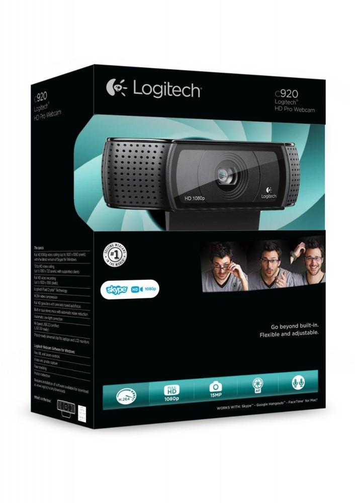 Logitech hd pro c920 webcam thanks for