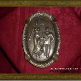 Raritate!!! Scrumiera Art Nouveau, per. Edwardiana, bronz masiv