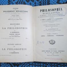 Thomae AQUINATIS (Thomas Aquinas) - PHILOSOPHIA SCHOLASTICA (1935 - IN LATINA!)
