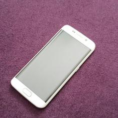 Samsung s6 edge perla - Telefon Samsung, Alb, 32GB, Neblocat