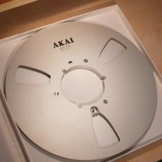 Akai rola de 26 originala noua in cutie pentru magnetofoane - Magnetofon