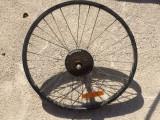 Roata bicicleta 5.2 - 6 pinioane SHIMANO, Butuci roata