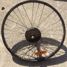 Roata bicicleta 5.2 - 6 pinioane SHIMANO - Piesa bicicleta Shimano, Butuci roata