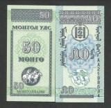 MONGOLIA  50  MONGO  1993  UNC   [1]   P-51  ,  necirculata