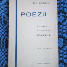 Gh. BACOVIA - POEZII (1929 - in stare excelenta!!!)