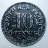 1.327 GERMANIA WWI 10 PFENNIG 1916 A FIER, Europa