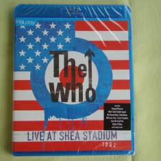 Blu-ray THE WHO - Live At The Shea Stadium 1982 - NOU Sigilat, BLU RAY, universal records