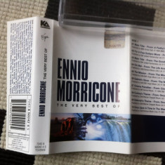 Ennio Morricone ‎The Very Best Of caseta audio muzica film movie virgin 2000 - Muzica soundtrack virgin records, Casete audio