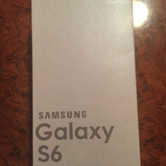 Cutie Samsung Galaxy S6 White pearl 32GB cu toate accesoriile incluse
